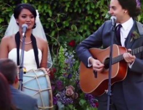 Deux artistes échangent leurs voeux en musique!